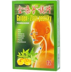 Golden Zlaté pastilky 12 ks