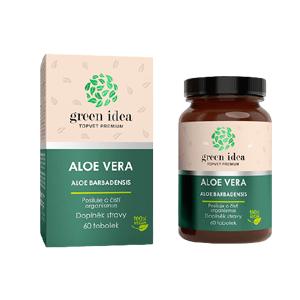 Topvet Aloe vera bylinný extrakt 60 kapsúl