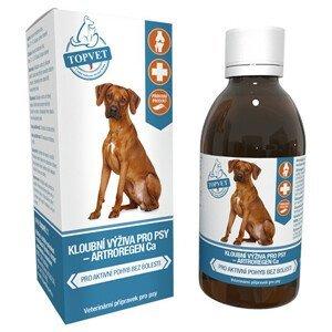 TOPVET Sirup na kĺbovú výživu pre psov 200ml