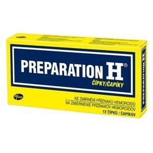 Preparation H čapíky 12ks