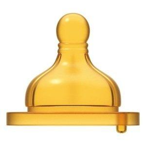 Chicco Cumlík na fľašu Original Touch latex pomalý 2ks