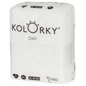 Kolorky Day Nature- XL (12-16 kg) jednorazové eko plienky 17ks