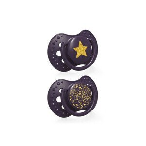 LOVI Dynamický utišujúci cumlík Stardust 3-6m 2ks