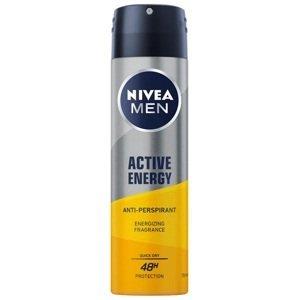 Nivea Men Antiperspirant v spreji Men Active Energy 150ml