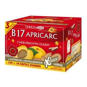 Terezia B17 Apricarc s marhuľovým olejom 150+30 kapsúl zdarma