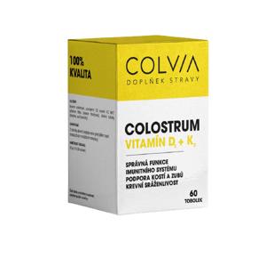 Colvia Colostrum vitamín D+K 33g