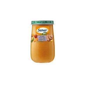 Sunar BIO príkrm Zelenina, teľací mäso, olivový olej 190g