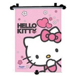 Tienidlo na okno auta sťahujúce 1 ks Hello Kitty