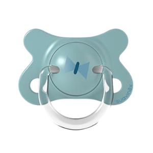 Suavinex Fusion Forest cumlík fyziologický silikon 2-4m modrá