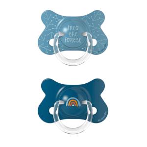 Suavinex Fusion Forest cumlík fyziologický silikon +18m modrá 2ks