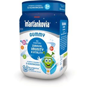 WALMARK Marťankovia Gummy Vitamíny s Echinaceou želatínové tablety 50ks
