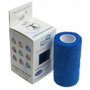 Kine-MAX Cohesive Elastic Bandage elastické samofixačné ovínadlo, 10cm x 4,5m, modré1ks