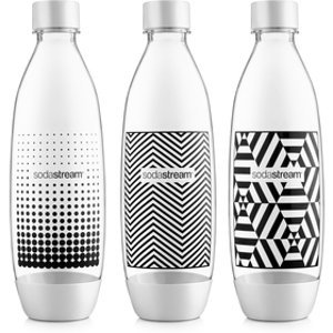 Náhradná fľaša Fľaša SOURCE/PLAY TRIPACK 1l B&W SODASTREAM