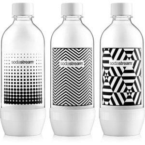 Náhradná fľaša Fľaša TRIPACK 1l BLACK&WHITE SODASTREAM