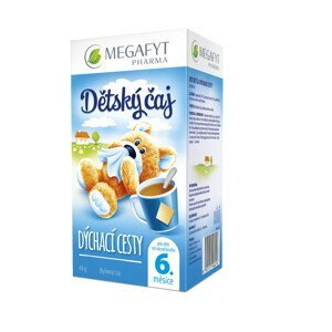 Megafyt Detský bylinný čaj Dýchacie cesty 20x2g