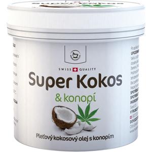 Herbamedicus Super Kokos a konope pleťový olej 150ml