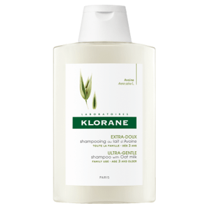 KLORANE SHAMPOOING AU LAIT D'AVOINE šampón s ovseným mliekom 400 ml