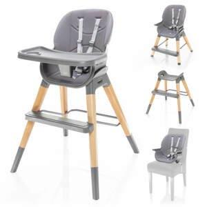 Zopa Detská stolička Nuvio, Dove Grey 1ks
