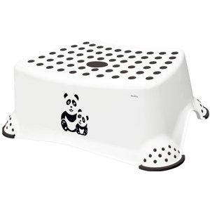 Keeeper Stupínek k WC/umyvadlu Panda bílá