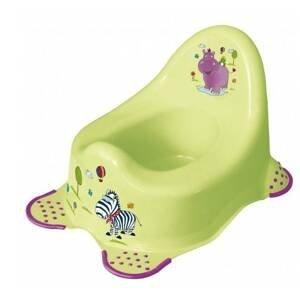 Keeeper Nočník protišmykový Hippo zelený