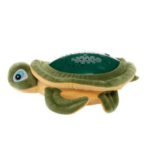 ZOPA Plyšová hračka s projektorom Korytnačka, zelená