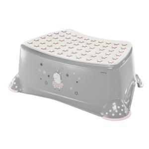 ZOPA Stupienok k WC/umývadlu Unicorn, Grey/Pink