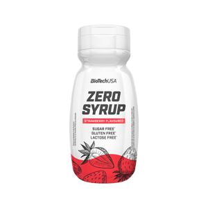 BiotechUSA Zero Syrup, jahoda 320ml