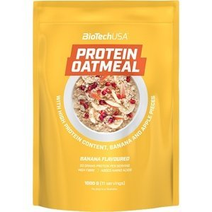 BiotechUSA Protein Oatmeal, jablko-banán 1000g