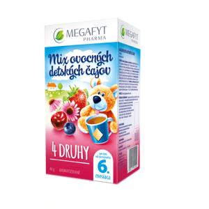 Megyfyt Mix ovocných detských čajov 4 druhy 20x2g