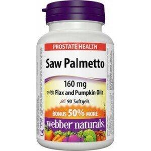 Webber Naturals Prostata - pre zdravú prostatu Bonus 60 +30tbl