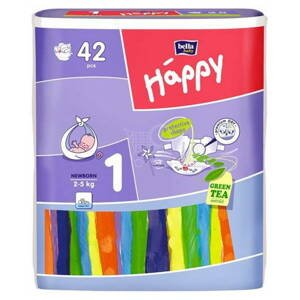 bella HAPPYNEWBORN detské plienky 42 ks