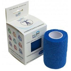 Kine-MAX Cohesive Elastic Bandage elastické samofixačné ovínadlo, 7,5cm x 4,5m, modré,1ks