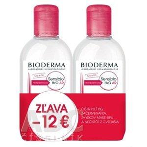 BIODERMA Sensibio AR H2O FESTIVAL čistiaca a odličovacia pleťová voda na citlivú pleť 2x250ml