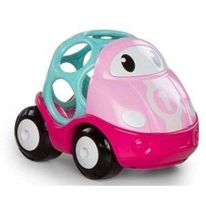 Hračka autíčko pretekárske Lily Oball Go Grippers™ ružová 18m+
