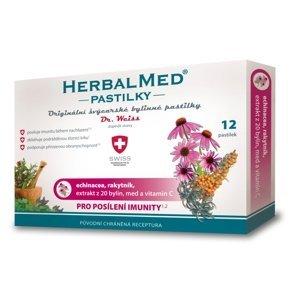 HERBALMED PASTILKY pre posilnenie imunity - Dr.W. pastilky 12 ks