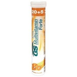 GS Multivitamín Forte šumivý pomaranč tbl eff 20+5 navyše