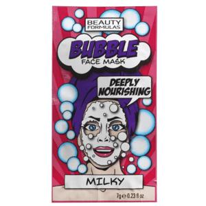 BeautyFormulas Bublinková pleťová maska (Mliečny proteín) 7g