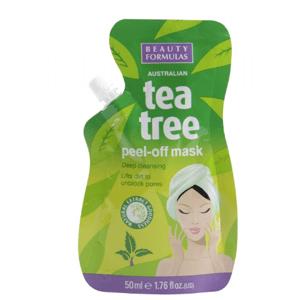 BeautyFormulas Tea tree Pleťová maska 50ml