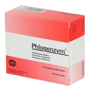 Phlogenzym 100 tabliet