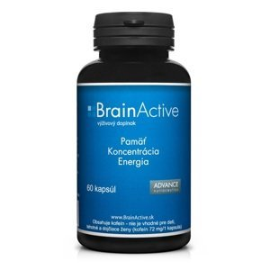 BrainActive 60 cps – pamäť, sústredenie, energia