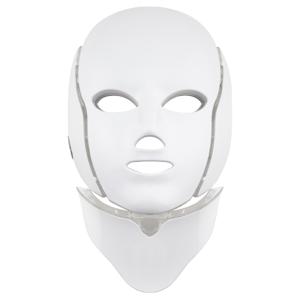 Palsar7 Ošetrujúca LED maska na tvár a krk biela 1ks