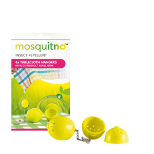 MosquitNo Závažia na obrus uvoľňujúce citronelovú vôňu 4ks