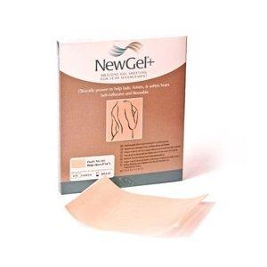 NewGel+ béžová silikónová náplasť NG-101 rozmer 12,7x15,2cm, 1 ks