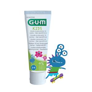 GUM Kids Zubný gél pre predškolákov Monsters 2-6 rokov 50ml