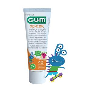 GUM Junior zubný gél pre školákov Monsters 7-12 rokov 50ml