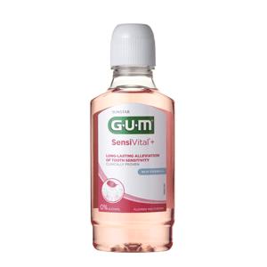 GUM SensiVital+ Ústna voda na citlivé zuby s CPC 0,07% 300ml