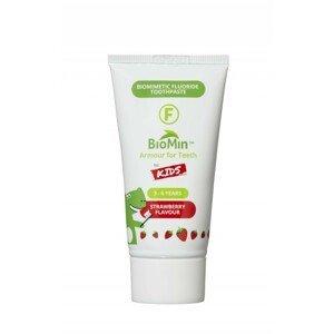 BioMin F Gélová zubná pasta pre deti jahoda 37,5ml