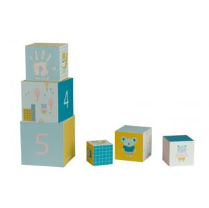 Baby Art Stohovacie kocky Activity Cubes
