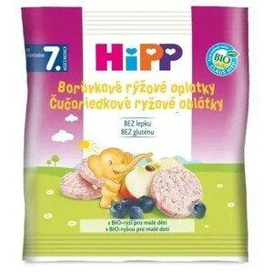 HiPP BIO Oblátky Čučoriedkové rýžové 30g