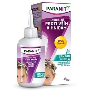 PARANIT Radikálny proti všiam a hnidám šampón 100 ml + hrebeň